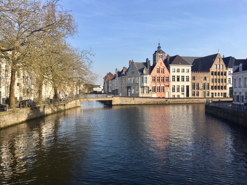 charming Bruges, Belgium with its canals and gingerbread-like architecture