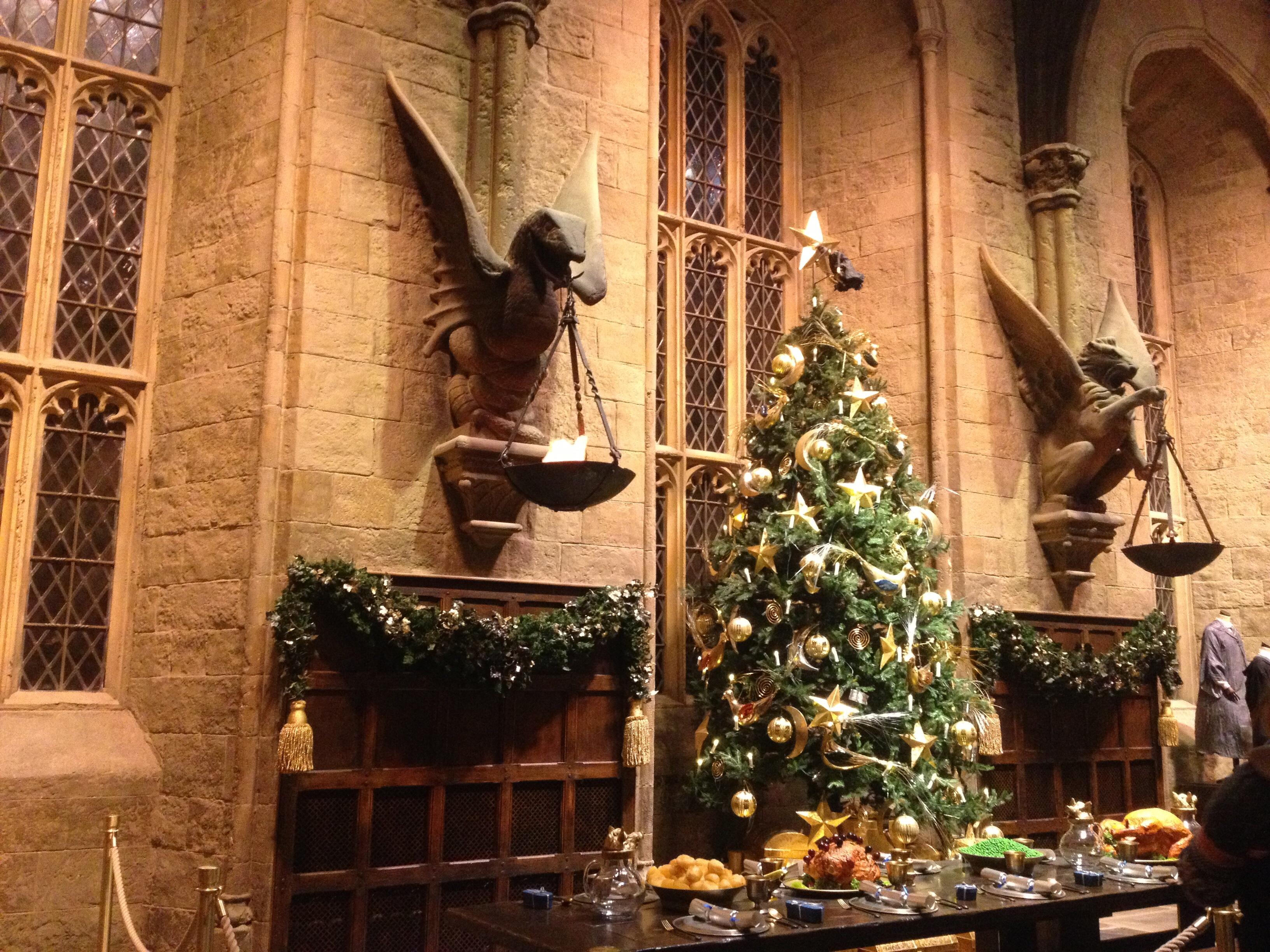 Harry Potter studio tour Great Hall