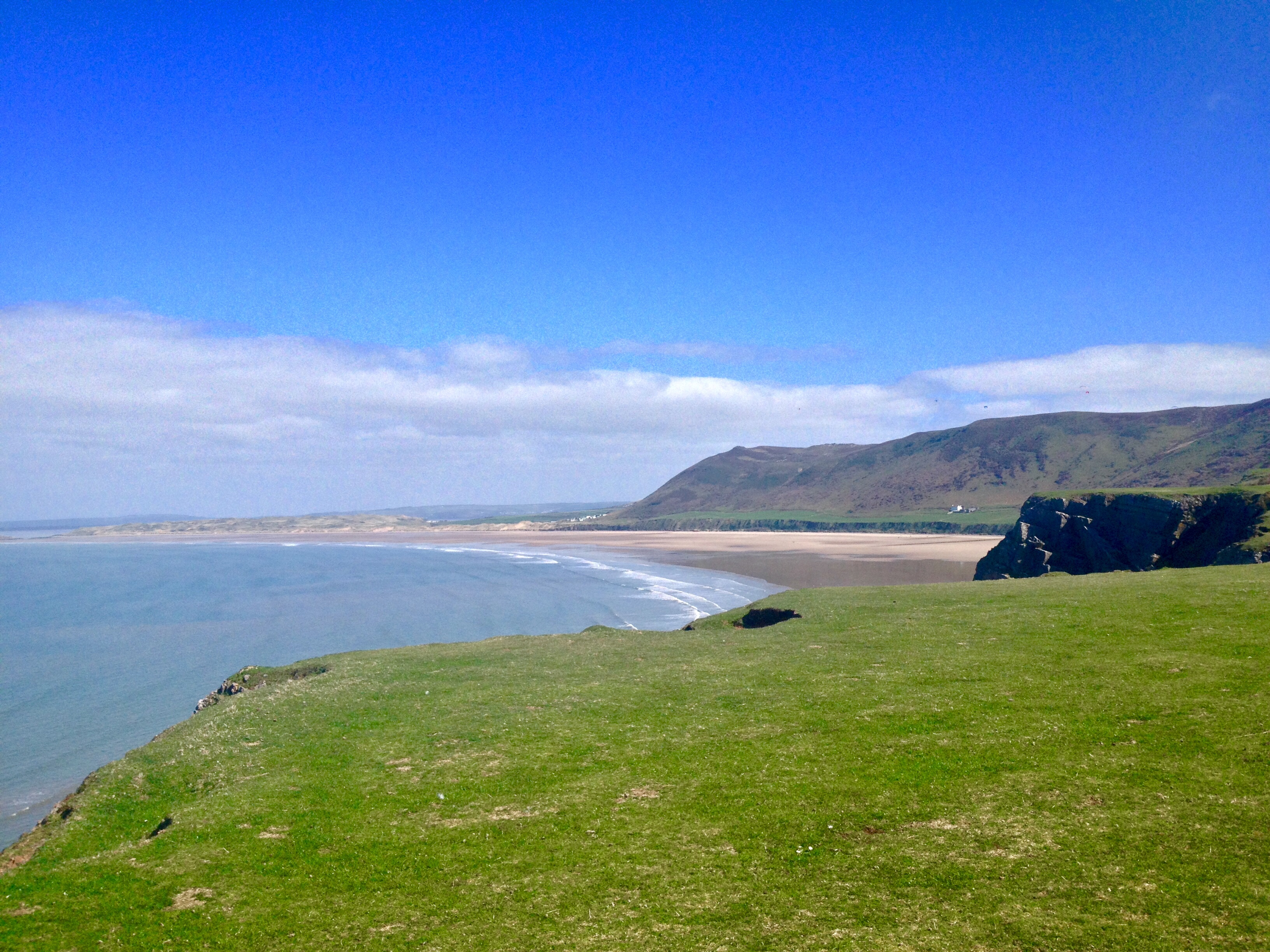 Rhossili Bay Gower Peninsula